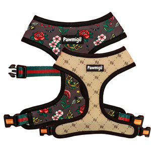 May Flowers Reversible Harness
