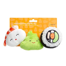 Load image into Gallery viewer, sushi dog toy set