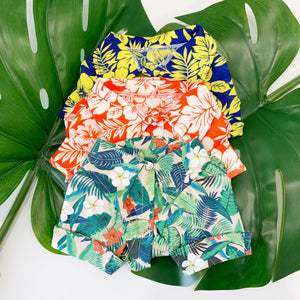 Aloha Hawaiian Shirt - Blue