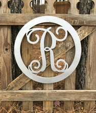 Load image into Gallery viewer, Circle Framed Single Monogram