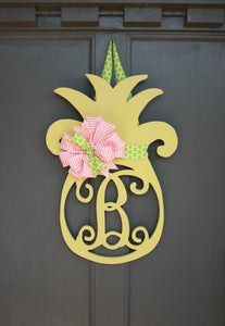 Pineapple with Monogram