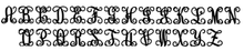 "Load image into Gallery viewer, Single Monogram Vine Script (12""-22"")"