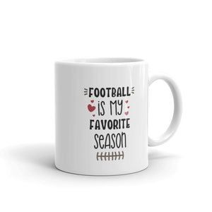 Football is My Favorite Season Coffee Mug