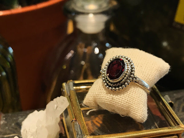 Garnet Gala Ring - Jewels & Gems