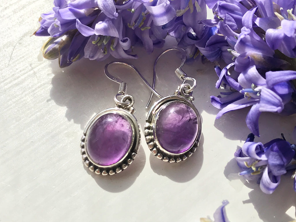 Amethyst Gala Earrings - Jewels & Gems
