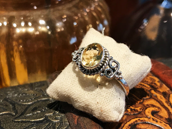 Citrine Alta Ring - Jewels & Gems