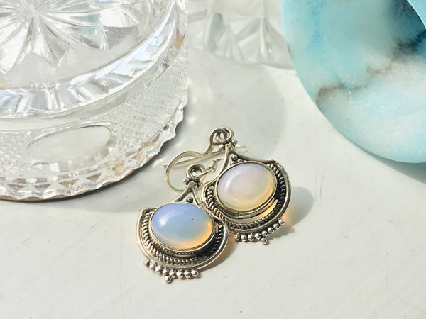 Opalite Kai Earrings - Jewels & Gems