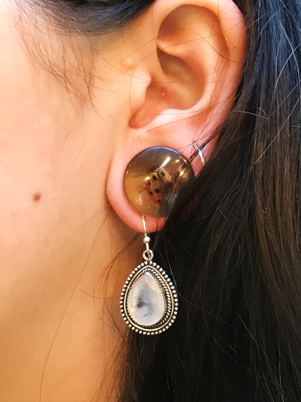 Moonstone Xenia Earrings - Jewels & Gems