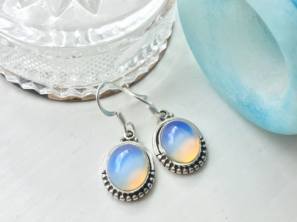 Opalite Gala Earrings - Jewels & Gems