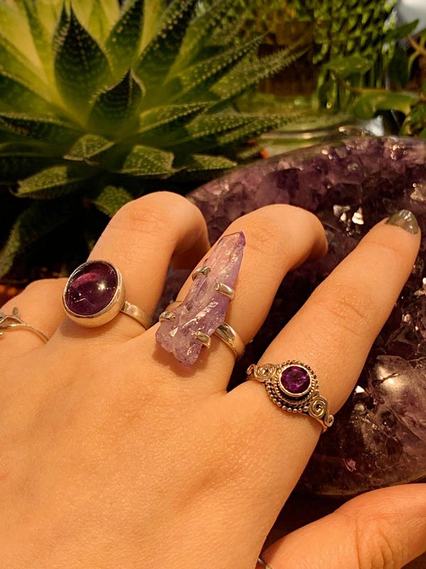 Amethyst Cassila Ring - Jewels & Gems