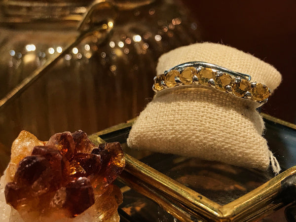 Citrine Nicias Ring (US 7.5) - Jewels & Gems