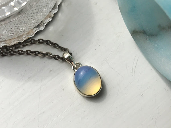 Opalite Akoni Pendant Oval - Jewels & Gems