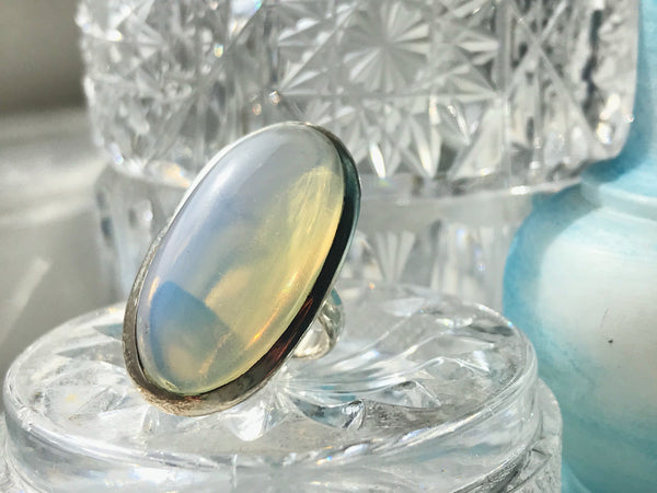 Opalite Ariel Ring - Jewels & Gems
