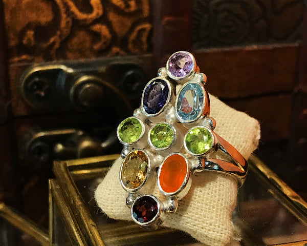 Chakra Ring - Jewels & Gems
