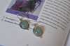 Green Chalcedony Cassia Earrings - Jewels & Gems