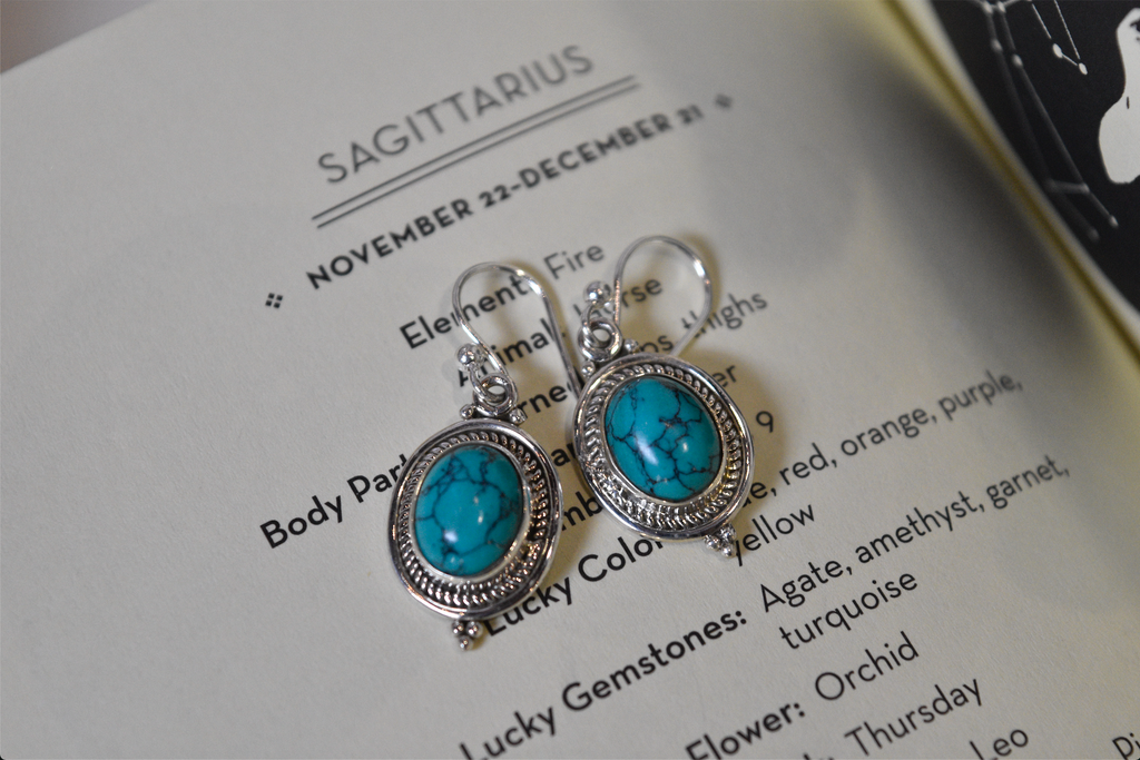 Turquoise Kai Earrings - Jewels & Gems