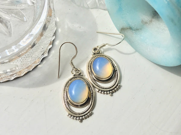 Opalite Odessa Earrings - Jewels & Gems