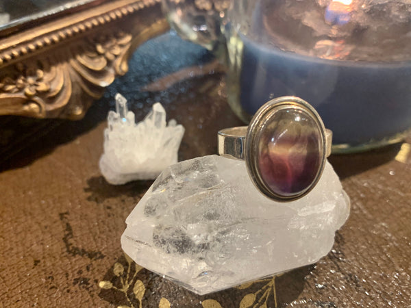 Fluorite Ari Ring - Jewels & Gems