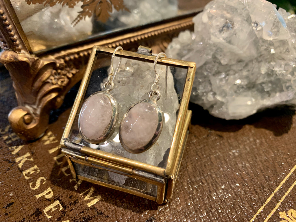 Morganite Akoni Earrings - Jewels & Gems