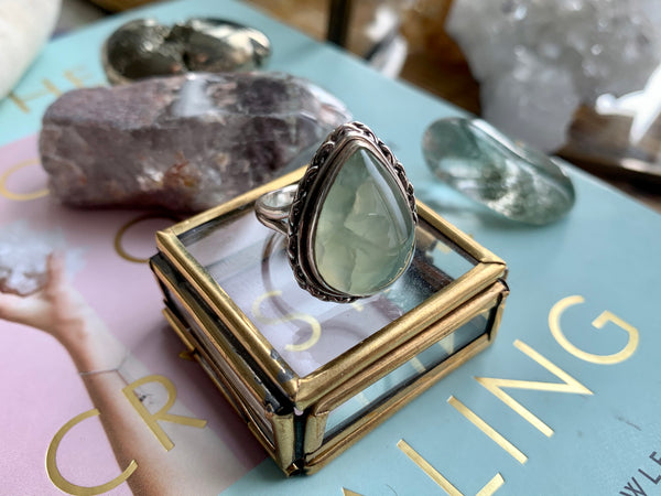 Prehnite Cassia Ring - Jewels & Gems