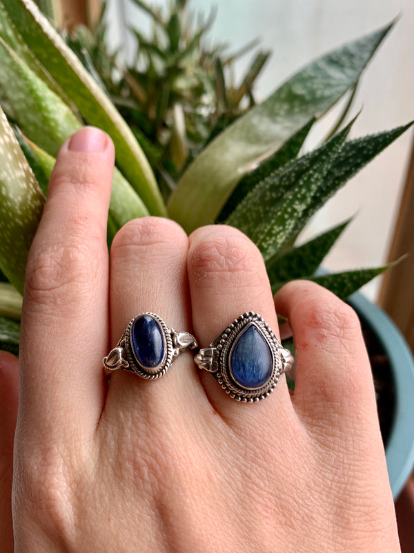 Kyanite Mixed Designed Rings - Jewels & Gems