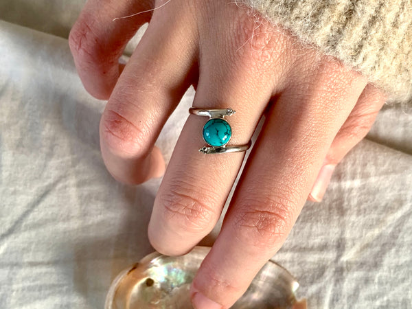 Turquoise Callie Ring - Jewels & Gems