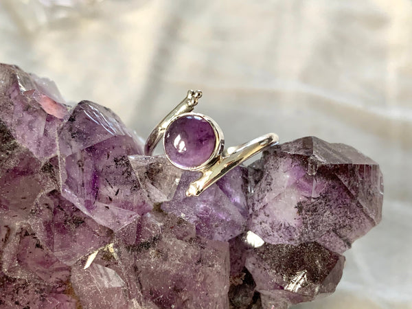 Amethyst / Moonstone / Labradorite / Lapis Lazuli Callie Ring - Jewels & Gems