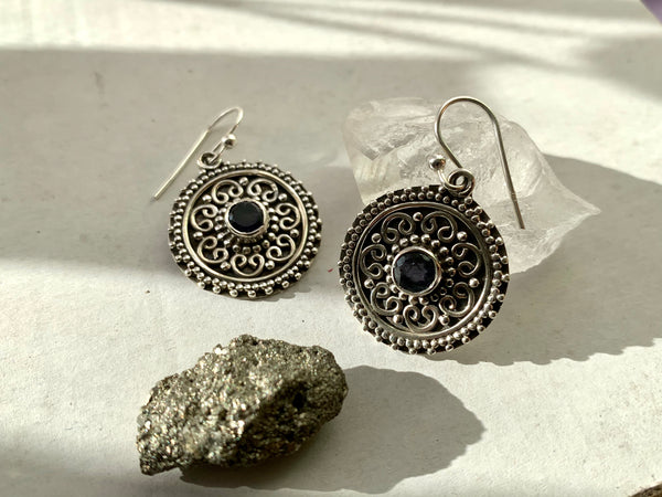 Iolite Zahara Earrings - Jewels & Gems
