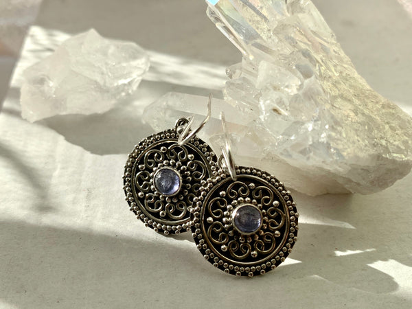 Tanzanite Zahara Earrings - Jewels & Gems