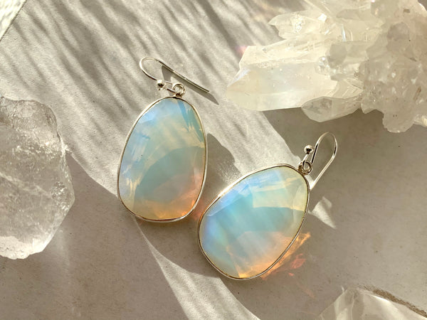 Opalite Adora Earrings - Jewels & Gems