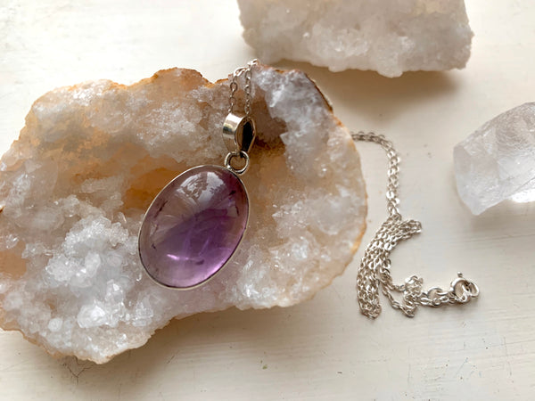 Ametrine Akoni Pendant - Small Oval - Jewels & Gems
