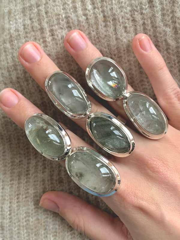 Garden Quartz Ansley Rings - Mixed Freeform - Jewels & Gems