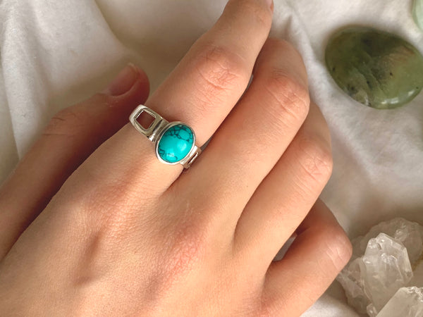 Turquoise Falco Ring - Jewels & Gems