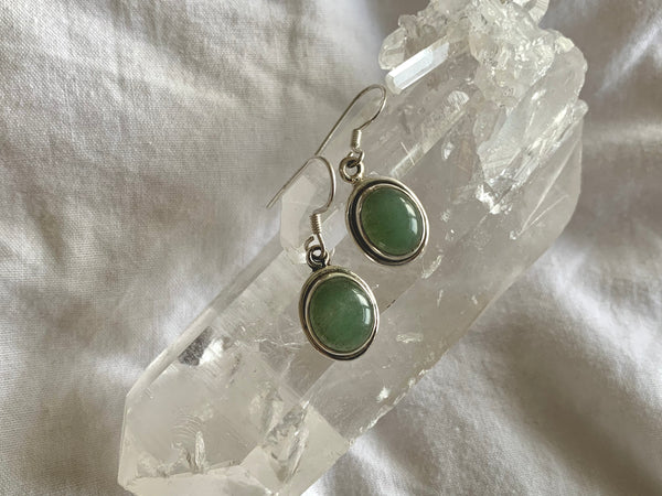 Green Aventurine Brea Earrings
