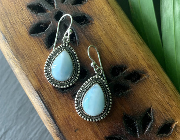 Larimar Gala Earrings - Jewels & Gems