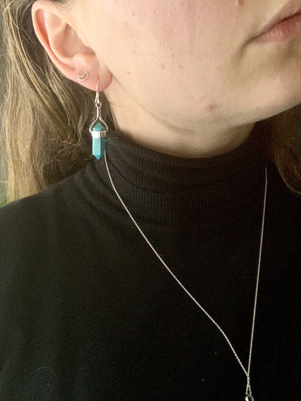 Turquoise Alena Earrings - Jewels & Gems