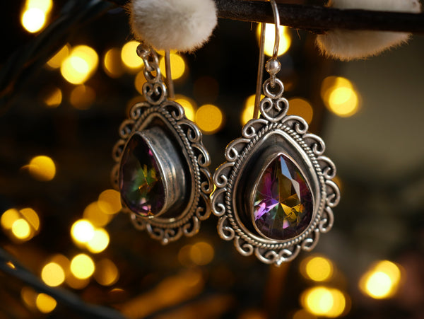Mystic Topaz Yadira Earrings - Jewels & Gems
