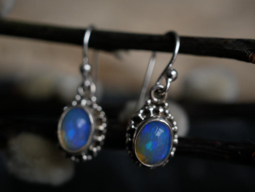 Opal Zoya Earrings - Jewels & Gems