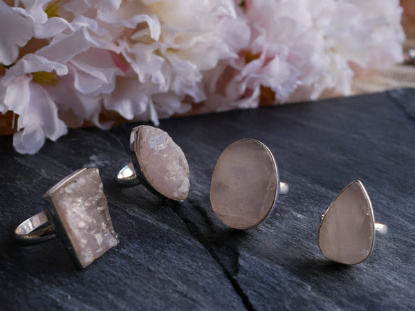Rose Quartz Rose Quartz Mix - Jewels & Gems