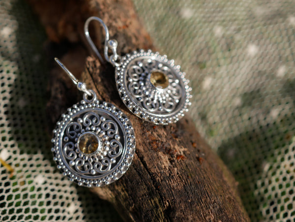 Citrine Zahara Earrings - Jewels & Gems