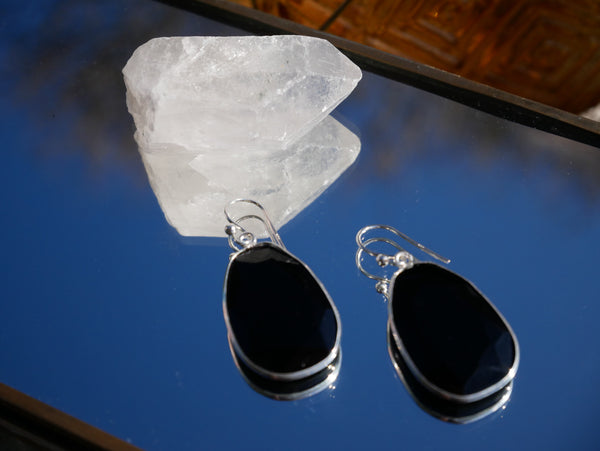 Onyx Adora Earrings - Jewels & Gems