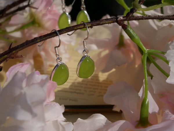Peridot Akoni Earrings Drop - Jewels & Gems