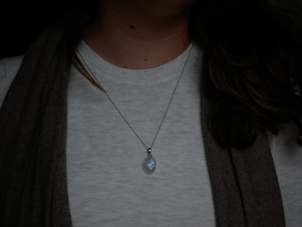 Moonstone Ari Pendant - Jewels & Gems