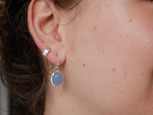 Blue Chalcedony Ariel Earrings - Jewels & Gems
