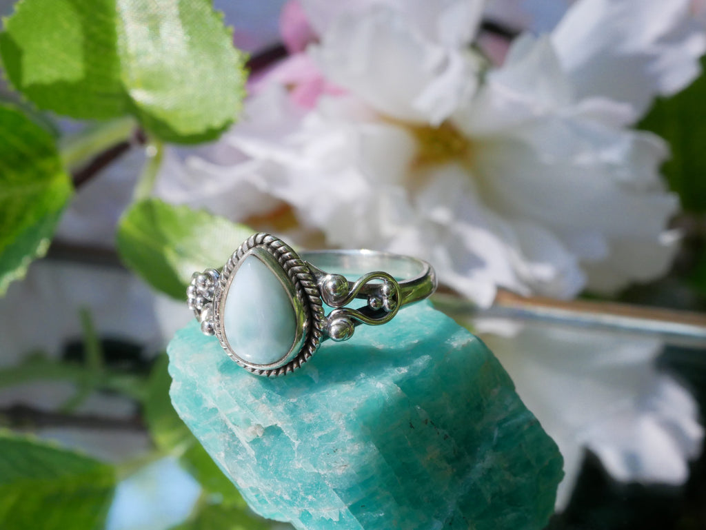 Larimar Alta Ring - Jewels & Gems