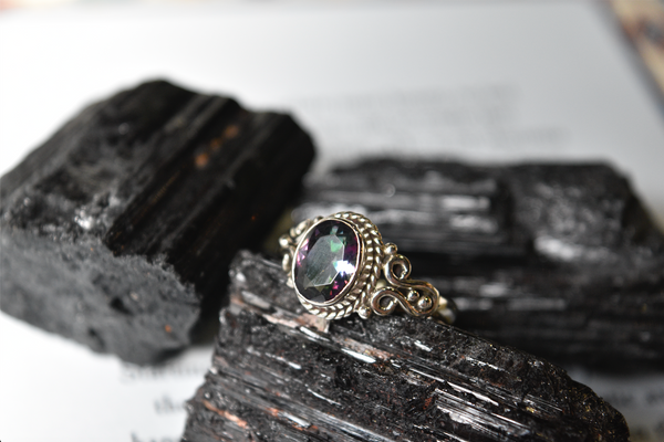 Mystic Topaz Alta Ring - Jewels & Gems