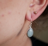 Aquamarine Akoni Earrings Drop - Jewels & Gems
