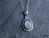 Moonstone Cassia Pendant - Jewels & Gems