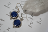 Semi-precious Sapphire Cassia Dot Earrings - Jewels & Gems