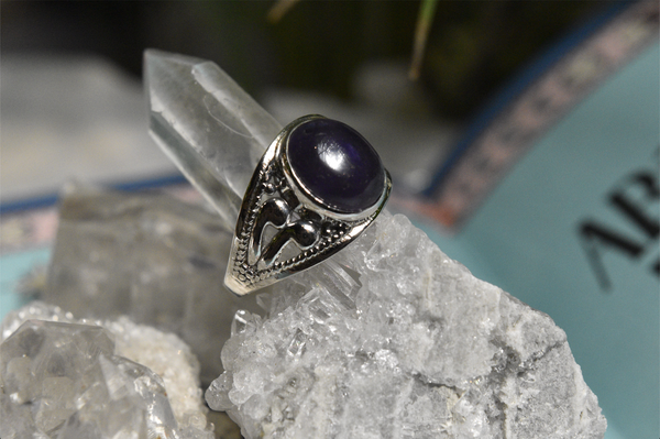 Amethyst Vesta Ring - Jewels & Gems